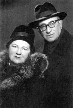 Роза Самуиловна и Марк Моисеевич Ястшомб, г. Лида. Фото 1964 г.